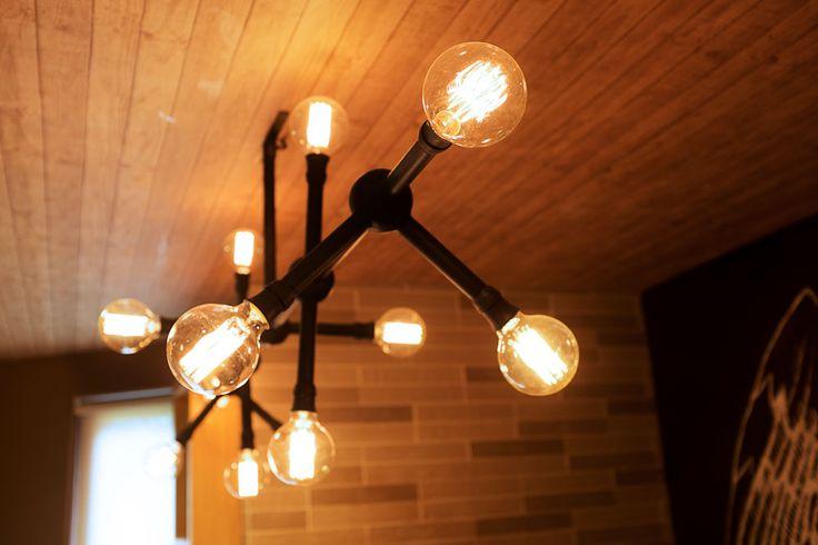 custom industrial lamp in detail #lamp #industrial #bulb