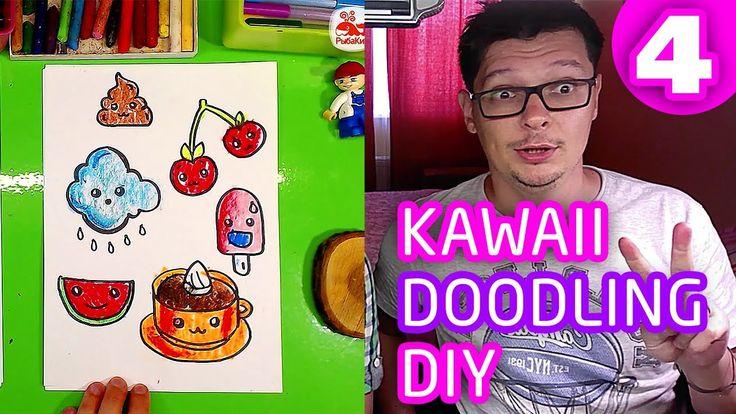 KAWAII РИСУНКИ / Как нарисовать КАВАЙНЫЕ Всусняшки / DIY Kawaii рыбакит