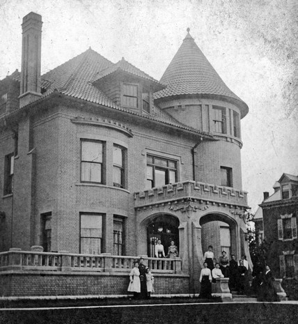 286 best indiana history images on pinterest indiana for Cost to build a house in indiana