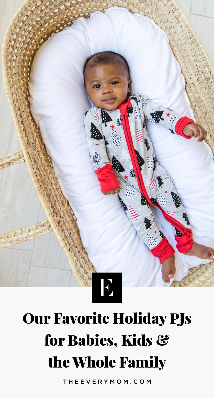 Our Favorite Holiday Pajamas For Babies Kids And The