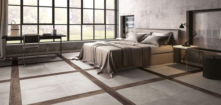 No 1444 Distinctive Floor Design with this porcelain range