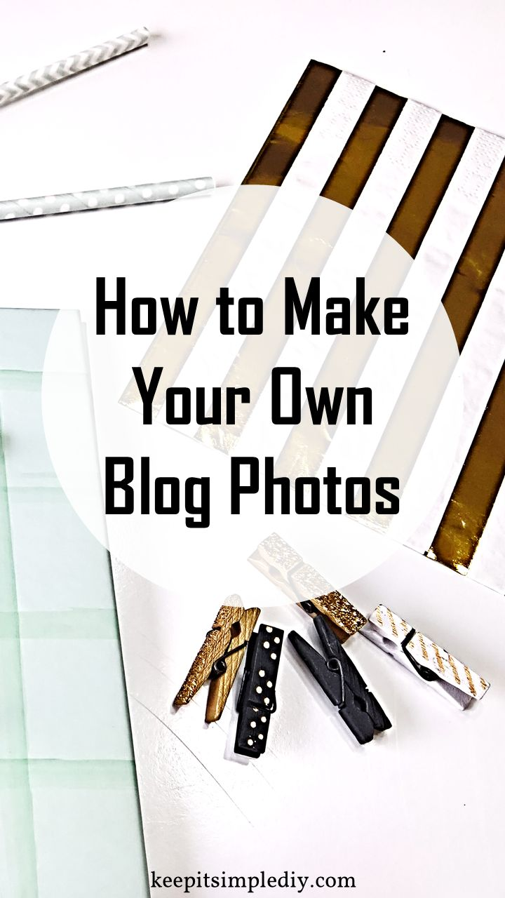 Creating your own blog photos or photo stock is very easy and inexpensive.  This is great news since photos can get quite pricey. Here's what to do: Buy some blogging goodies.  Things like paper clips, clothes pins, note pads, and anything else you would like to see in your photos.  My favorite place to get …