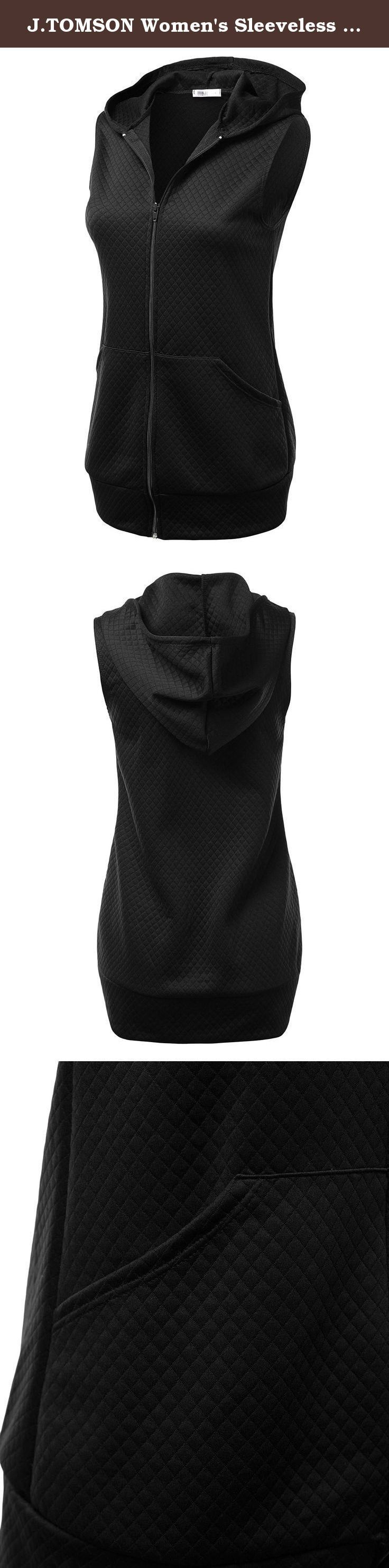 J.TOMSON Women's Sleeveless Animal Print & Solid Hooded Zip Up Vest Jacket. J.TOMSON Women's Sleeveless Animal Print & Solid Hooded Zip Up Vest Jacket is a fashionable match for any outfit. MEASUREMENTS AWOV081: S - Shoulder: 13.5in. / Chest: 30in. / Length: 28in. M - Shoulder: 14in. / Chest: 32in. / Length: 28.5in. L - Shoulder: 14.5in. / Chest: 34in. / Length: 29in. XL - Shoulder: 15in. / Chest: 37in. / Length: 30in. 2XL - Shoulder: 15.5in. / Chest: 39in. / Length: 31in. 3XL - Shoulder:...
