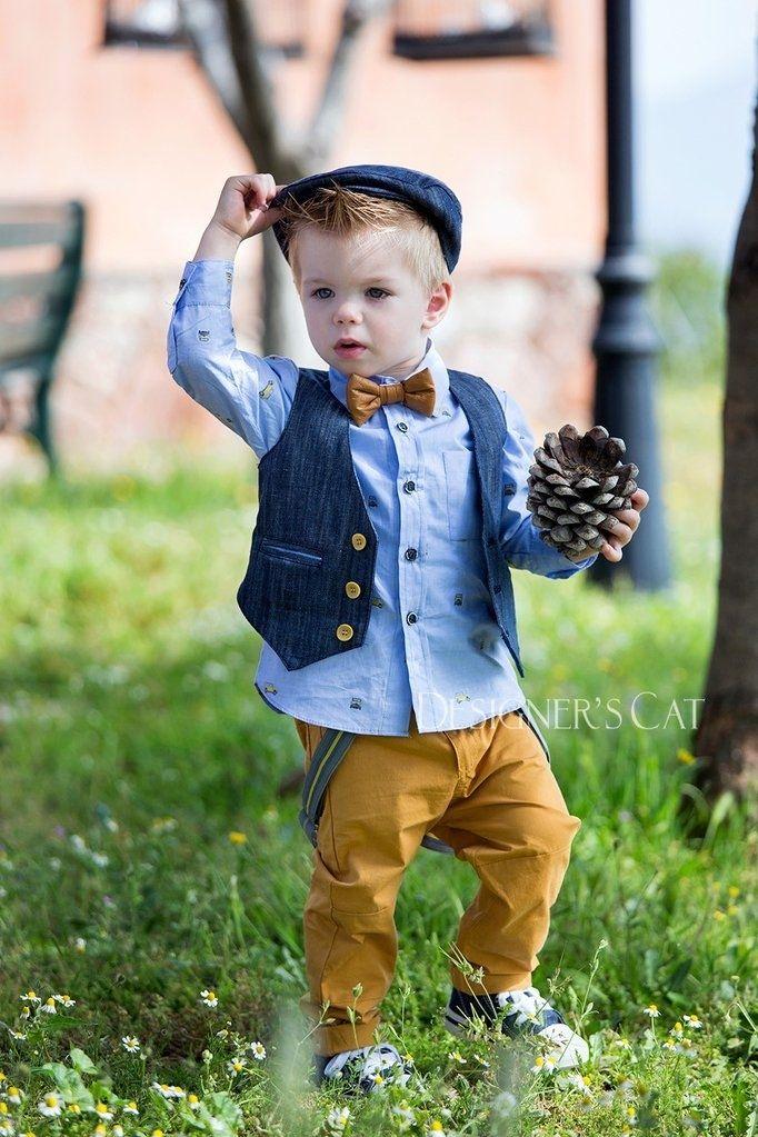 000790258db Designer's Cat FIDEL | Βαπτιστικά ρούχα για αγόρι | Μόδα για αγόρια, Παιδική  μόδα, Αγοράκια