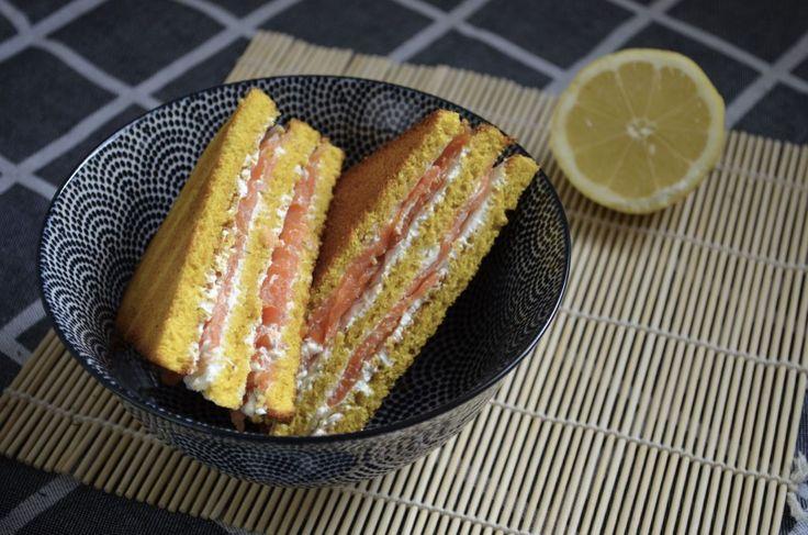 Club sandwich norvégien au saumon et fromage frais #fromagefrais #saumon #norvege #clubsandwich Quand julie patisse