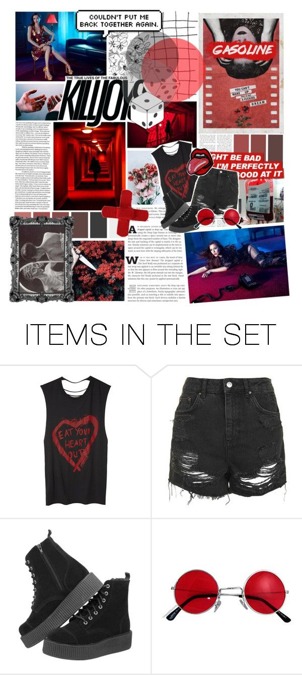 """""""// all the kings horses and all the kings men never put my heart together again// botef"""" by always-suspect-the-nargles ❤ liked on Polyvore featuring art and BotExpFearsRound5"""