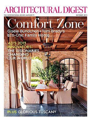 The supermodel and the New England Patriots quarterback explain how they keep their home cozy and comfortable