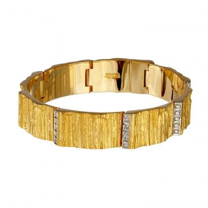 Natalie Bracelet 40x0,02 / Design: Björn Weckström / Lapponia Jewelry / Handmade in Helsinki