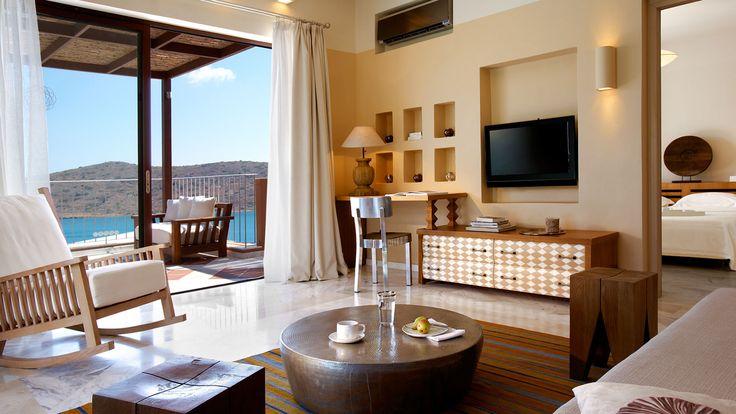 A Premium Suite of Domes of Elounda Boutique Beach Resort.