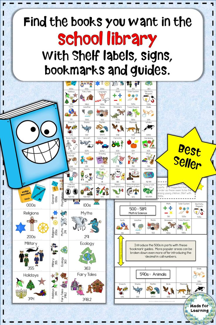 63 best shelf labels signs images on pinterest library ideas dewey decimal call number guide for the school library robcynllc Images