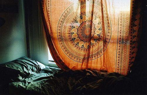 goldenTapestries, Bohemian Kitchen, Beds, Apartments Ideas, Windows Covers, Bohemian Curtains, Boho, Bedrooms, Bohemian Decor