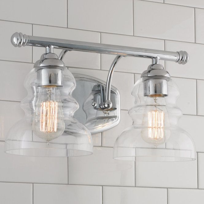 Bathroom Vanity 3 Light Fixture Aged Bronze Mason Jar Wall Lighting Allen Roth: 18 Best Retro Style Bath Lights: Schoolhouse, Restoration, Craftsman And More Images On
