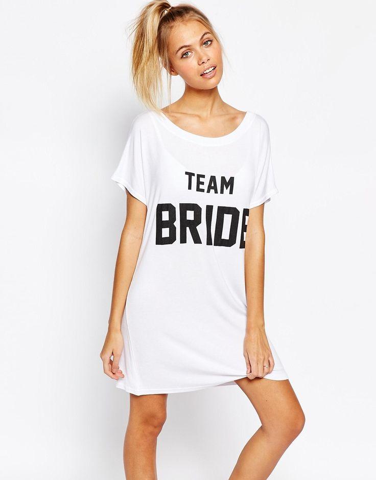Image 1 - Adolescent Clothing - Chemise de nuit avec imprimé «Team Bride»