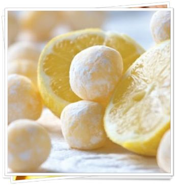 Low Carb White Chocolate Lemon Truffles - Great for the holidays and gifts to family and friends!