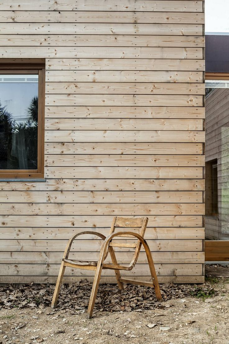 Just wood, Spain - 2013 by Alventosa Morell Arquitectes #wood #outdoor #architecture #chair