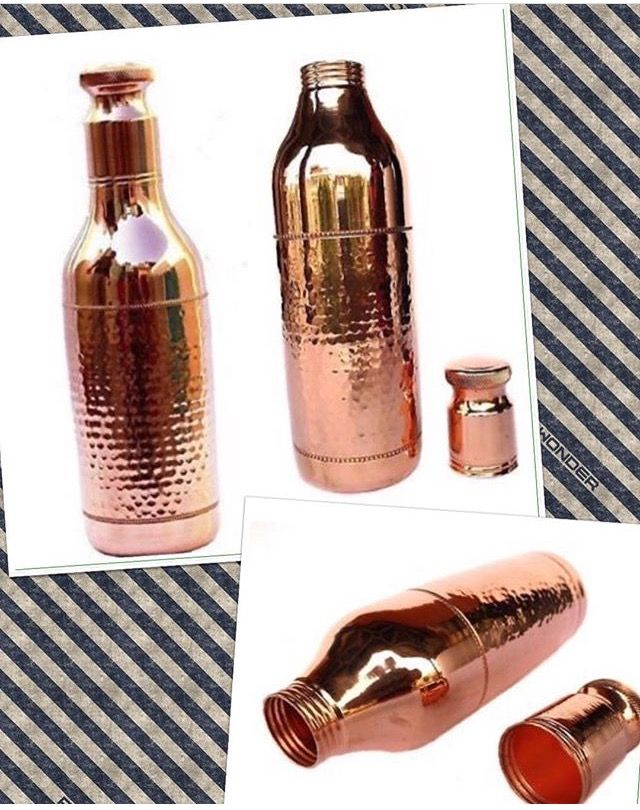 Use Pure Copper Water Bottles For A Healthy Lifestyle We Are