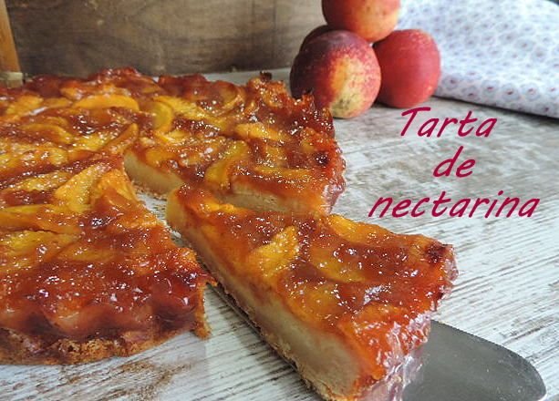 marronglacè: Tarta de nectarina