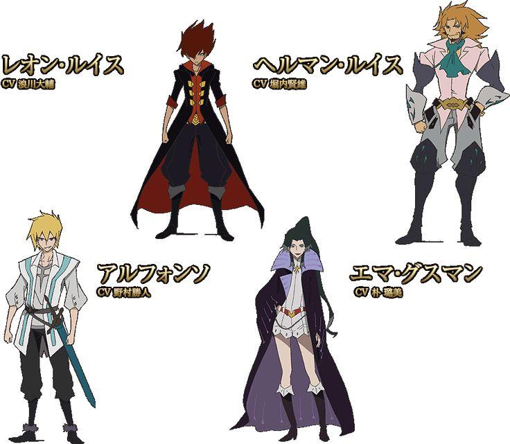 CHARACTER cast for GARO: Honoo no Kokuin anime, Fall 2014 | TVアニメ「牙狼〈GARO〉-炎の刻印-」公式サイト #garo
