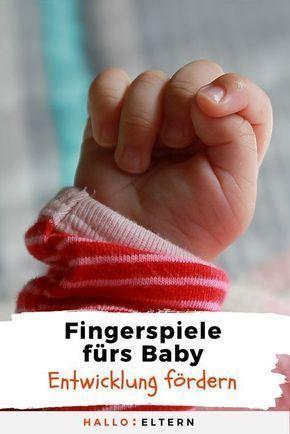 Die süßesten Fingerspiele für Babys und Kinder