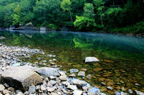 Little Red River, Heber Springs, AR, photo by Andy Magee