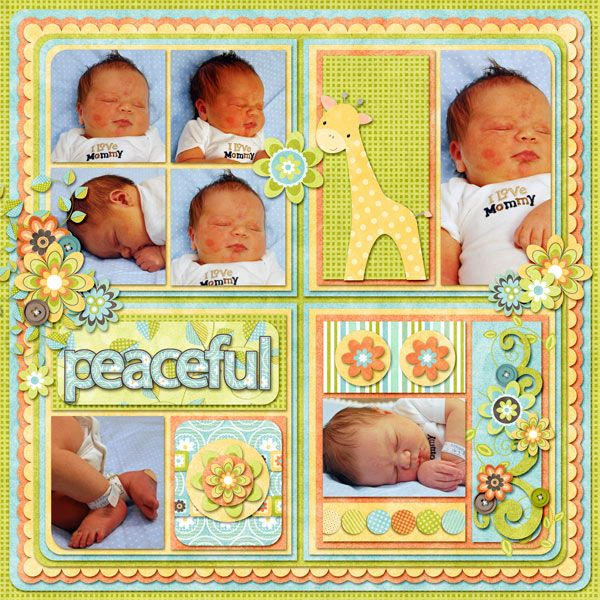 698 best Baby Boy Scrapbook Page Layouts images on ...