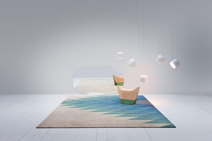 KOOH-I-NOOR mirror design #PieroLissoni  - 2015 #GOLRAN collection Stylist #AlessandraSalaris