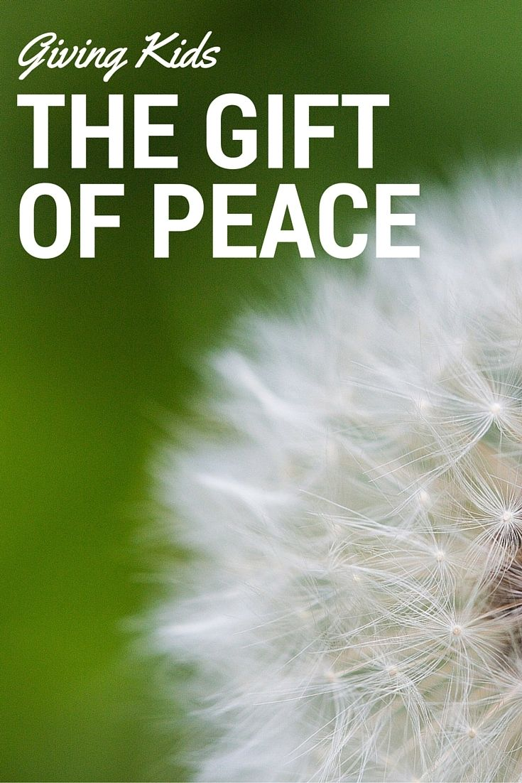 The Importance of Peace in a Child's Life - http://www.megactsout.com/the-importance-of-peace-in-a-childs-life/