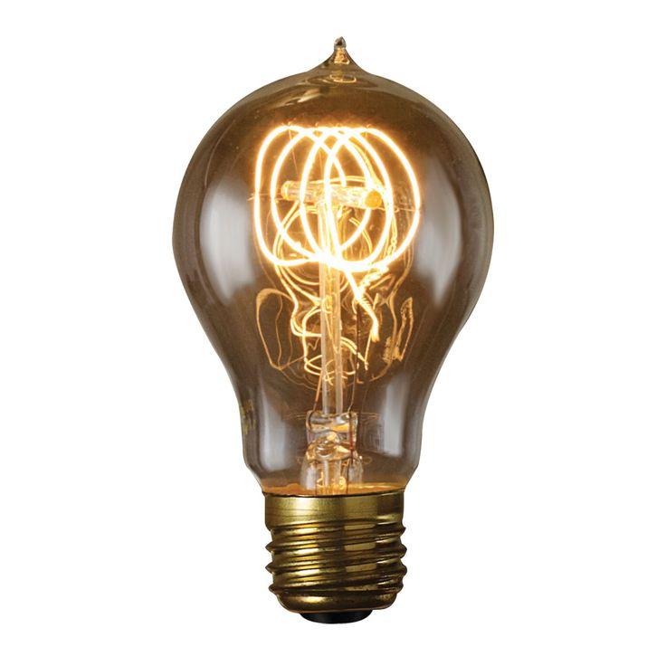 Bulbrite 60W Victorian Loop Filament A19 Incandescent Edison Light Bulb - 6 pk. - BULB562