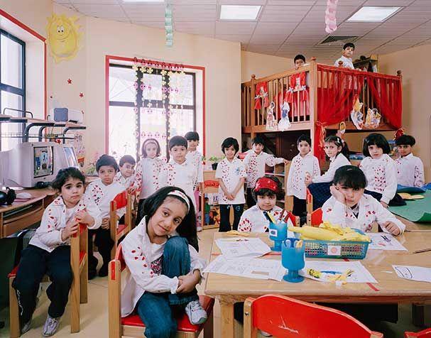 #photos de classe à travers le monde, ça résume tout!