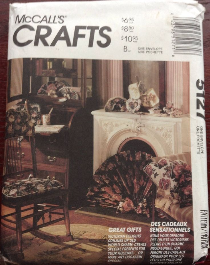 Victorian style gifts to sew for home McCalls pattern by Followlight on Etsy
