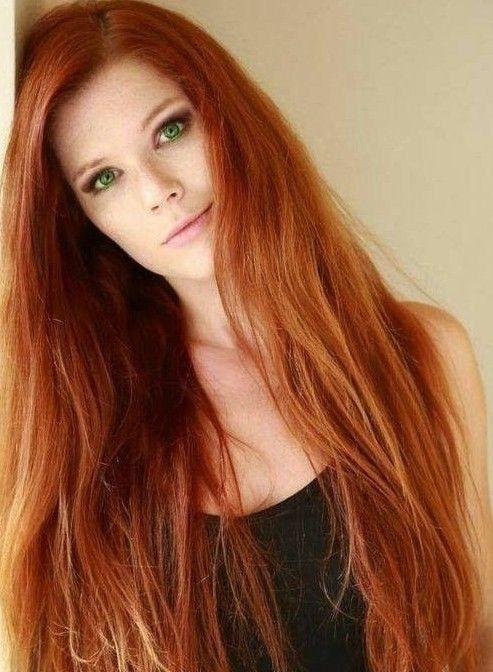 Beste Mitte der mittleren Haarschnitte für Redheads