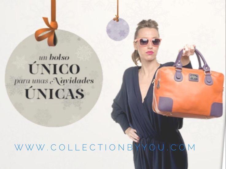 Esta Navidad regala bolsos de www.collectionbyyou.com. SE ORIGINAL, SE DIFERENTE!! diseña el bolso de tus sueños
