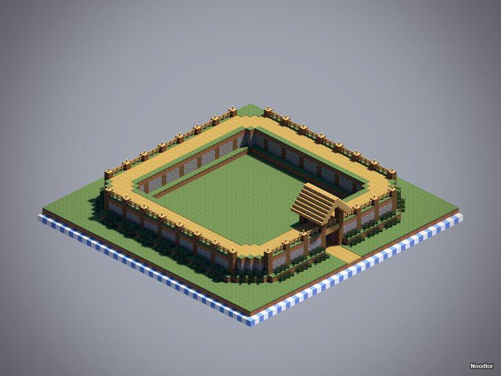 Minecraft Oak wall design
