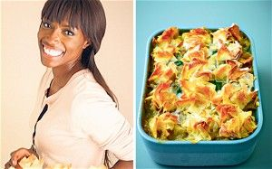 Lorraine Pascale and Thai pie