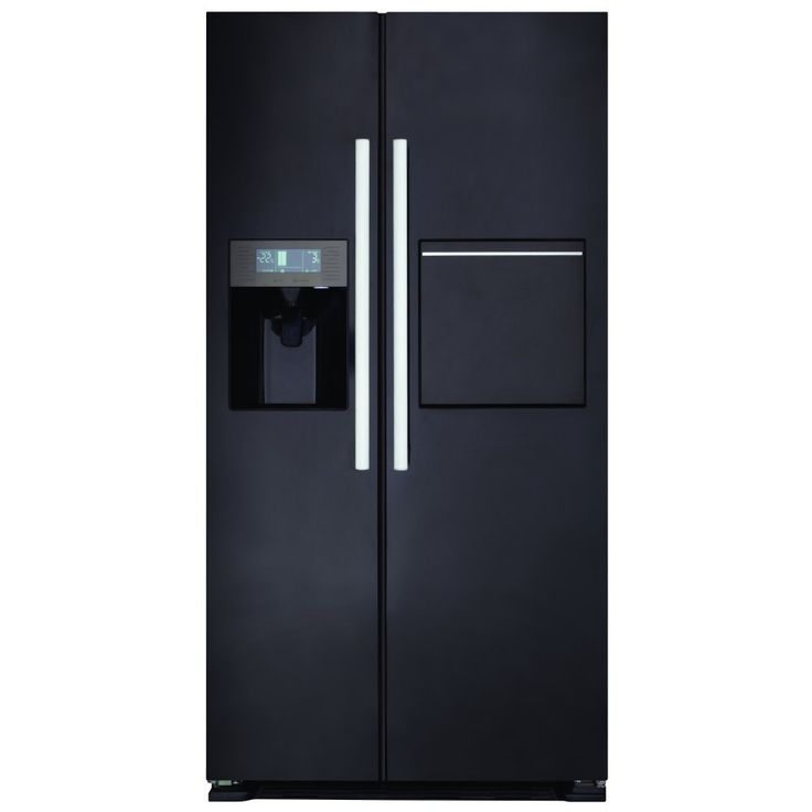exceptional Cda Kitchen Appliances #6: CDA PC70BL - American Fridge Freezer With Ice Water u0026 Homebar | Appliance  City