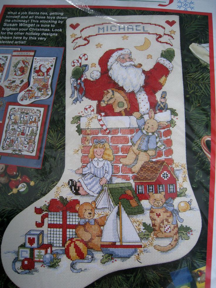 cross stitch stocking patterns