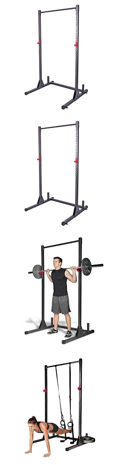 Power Racks and Smith Machines 179815: Pull Up Stand Barbell Training Rack Cap Equipment Steel Gym Exercise Station New -> BUY IT NOW ONLY: $69.79 on eBay!