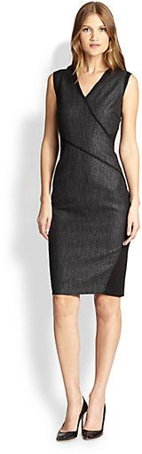 Elie Tahari Maisy Dress - Who said tweeds must look boring?