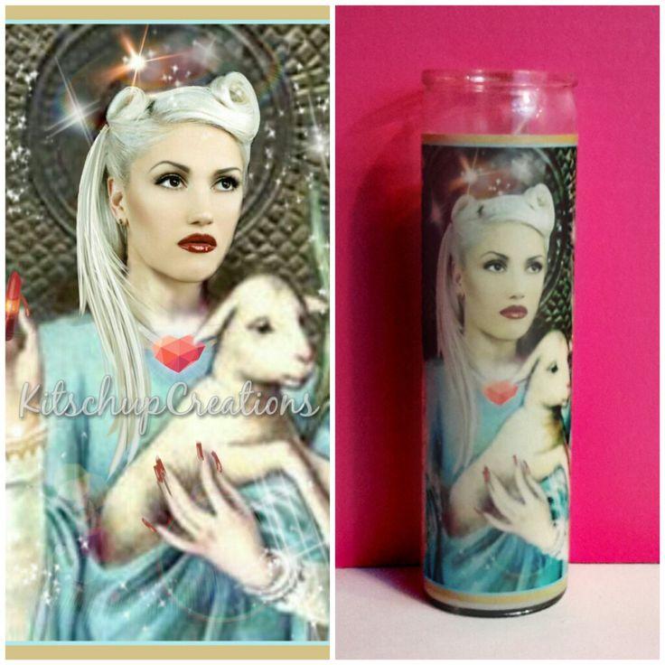 Gwen Stefani Prayer Candle