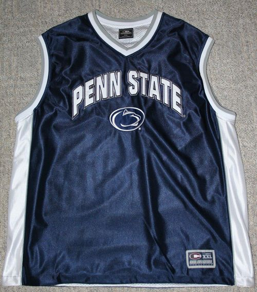 Penn State Nittany Lions Blue Reversible Basketball Jersey by Colosseum | eBay