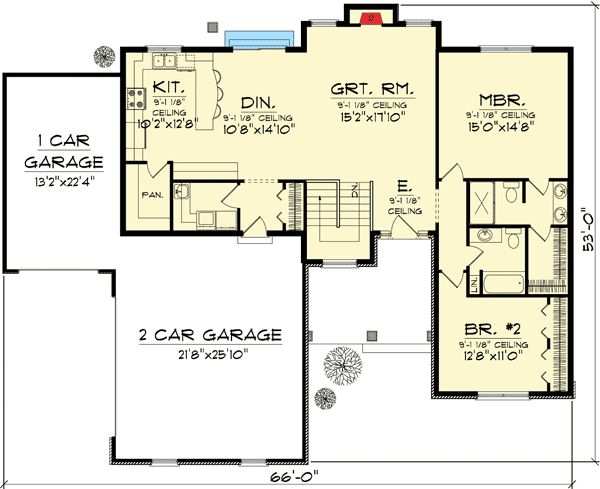 1000 Images About Floor Plans On Pinterest Craftsman Square Feet And Craftsman Style House Plans