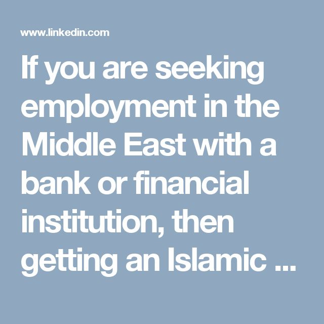 If you are seeking employment in the Middle East with a bank or financial institution, then getting an Islamic finance degree is paramount to your employment and career success.  http://www.scoop.it/t/online-education-by-aims-uk/p/4073295198/2016/12/27/advantages-of-mba-islamic-finance-over-general-mba