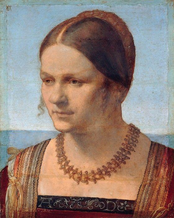 Портрет молодой венецианки. Альбрехт Дюрер