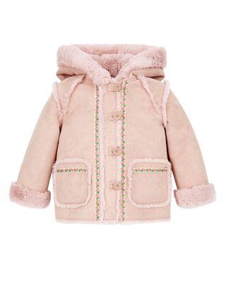 Baby Susie Suedette Coat