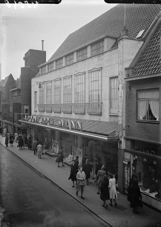 Kerkstraat jaren vijftig