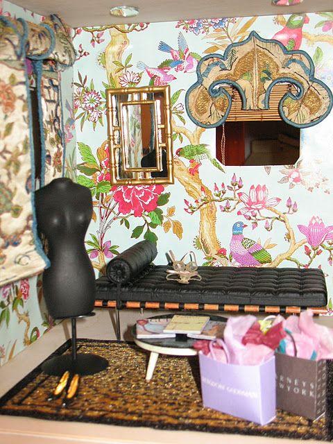 My Hollywood Regency Dressing Room