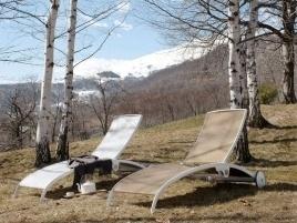 Lettini chaise longue da esterni, per un relax come al mare! #Casa #Arredo