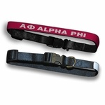 alpha phi dog collar for buttercup @Lauren Wheelock :) I'm re-pinning so maybe you'll see it this time