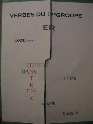À la suite de Marguerite Bourgeoys: Lapbook des verbes du 1er groupe