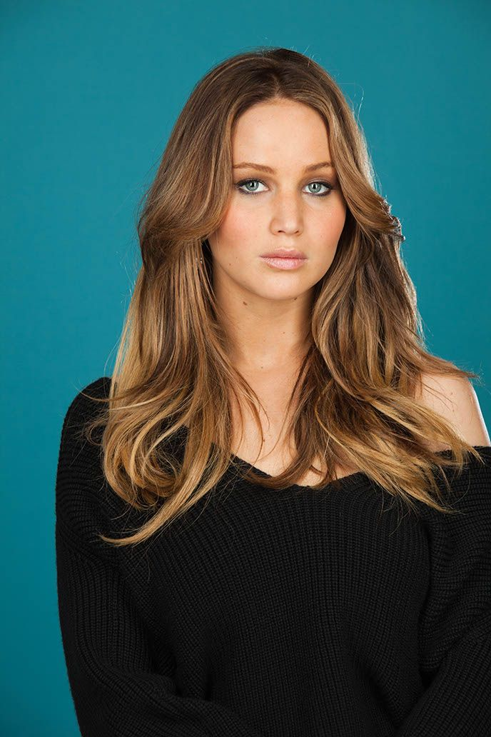 jennifer lawrencefall hair color beauty brains